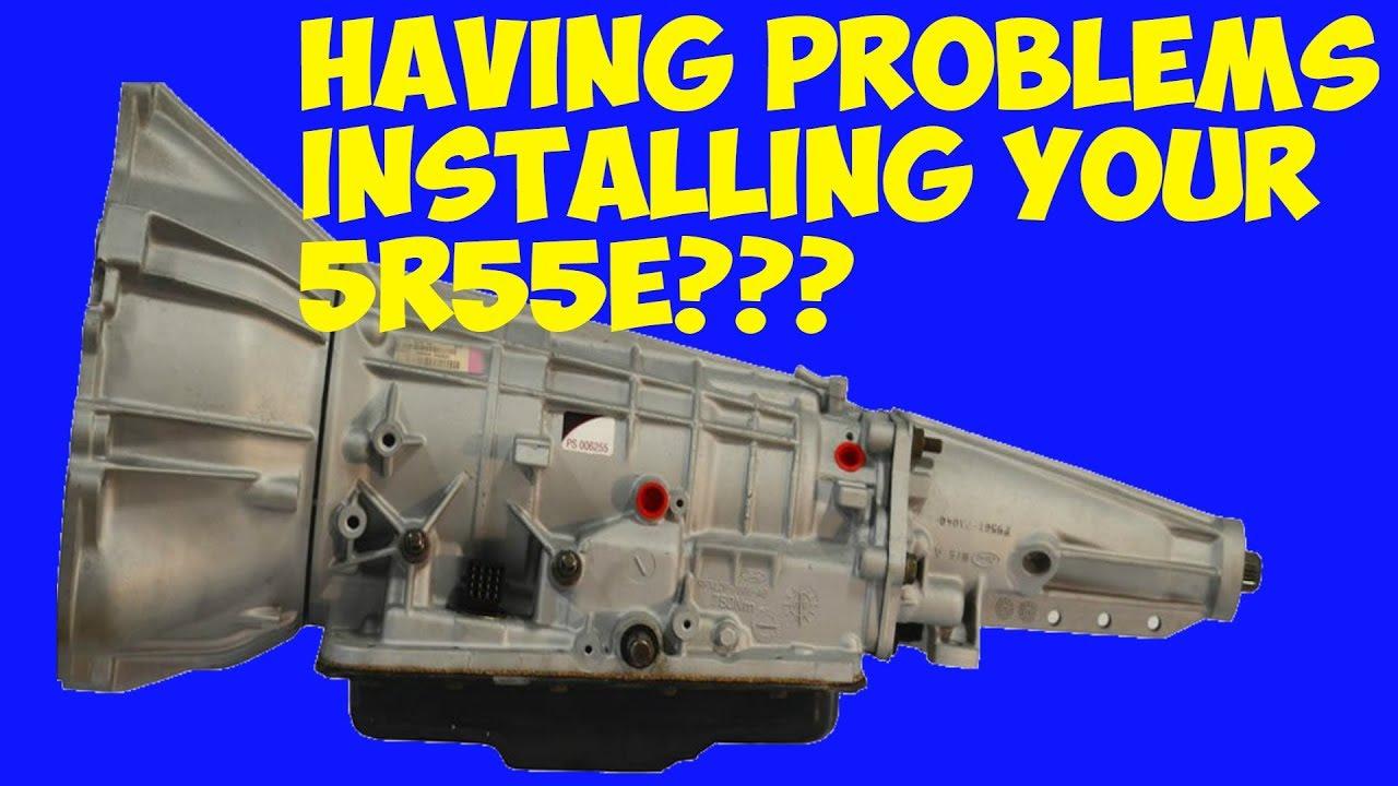 INSTALLATION PROBLEM  2000 FORD EXPLORER XLT 40L V6 WITH 5R55E TRANSMISSION PART 1 OF 3  YouTube