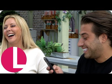 Love Island's Kem Cetinay Reveals His Struggle With Dating And Anxiety To Carol Vorderman | Lorraine