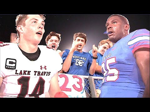 🔥🔥 Texas Football : Lake Travis vs Westlake - UTR Highlight Mix 2017