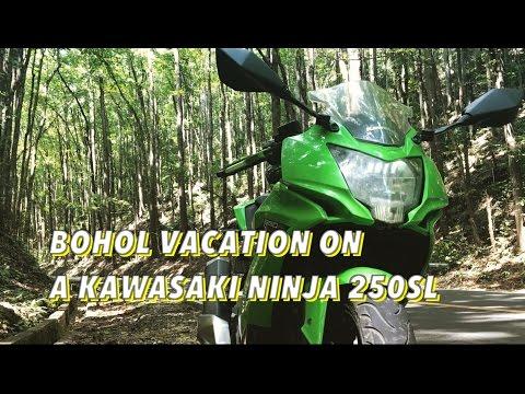 GakiMoto 73: Bohol on a Kawasaki Ninja 250 SL