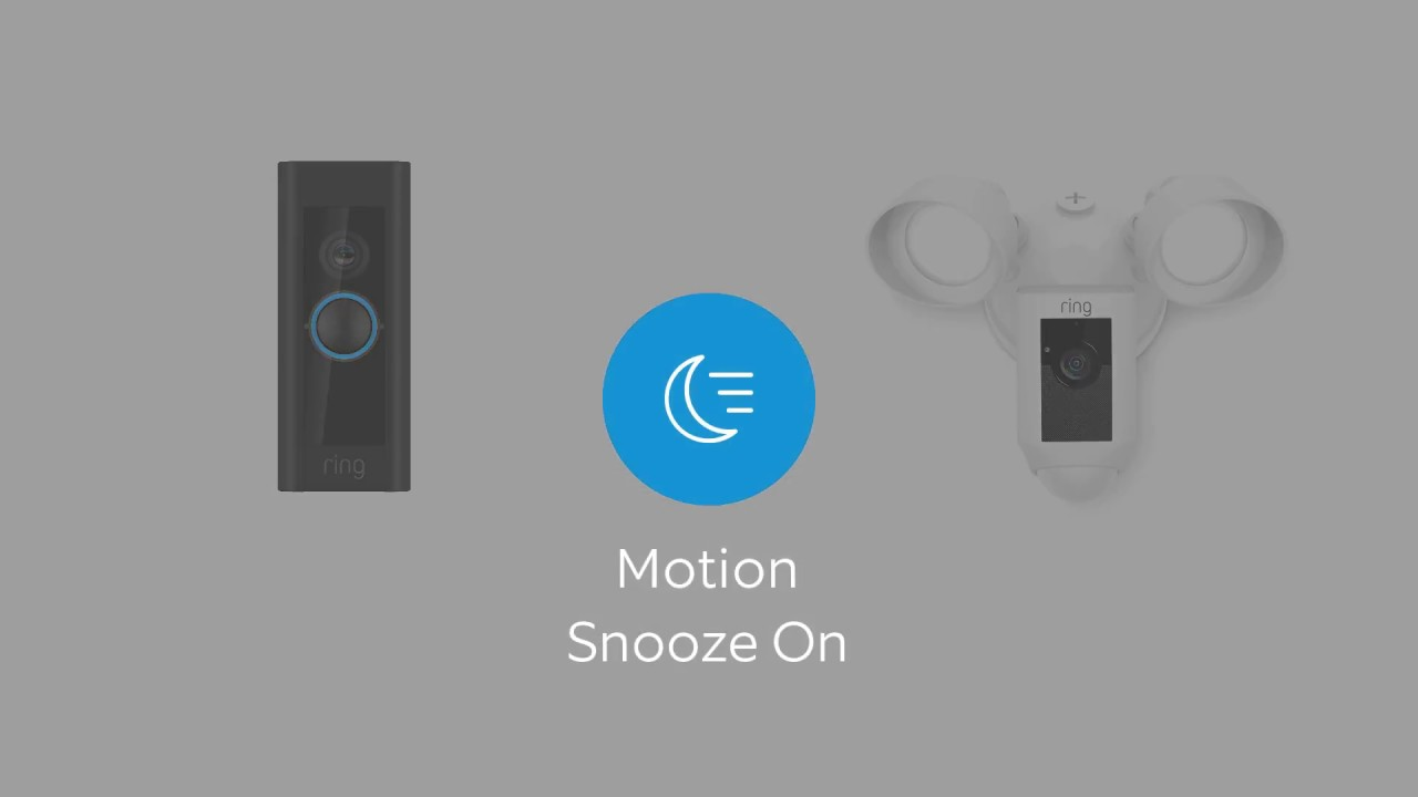 Introducing Custom Alerts, Motion Snooze and More to the App | Ring
