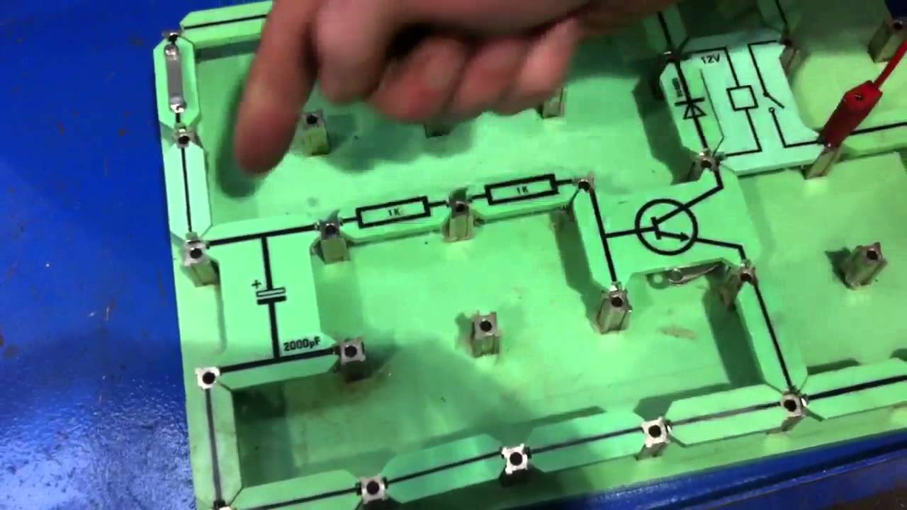 time delay circuit using locktronics to control glow plug operation in a diesel engine [ 1280 x 720 Pixel ]