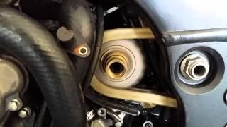 Generation 4 Kawasaki ZX-10R - cam chain tension adjustment