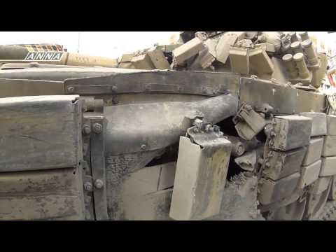 18+ Syria TANKS vs. MEN II - T-72 Tank battles GoPro Party Hard in Darayya 59 min