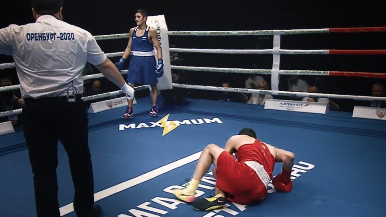 Самый быстрый нокаут чемпионата России по боксу 2020 / Бой
