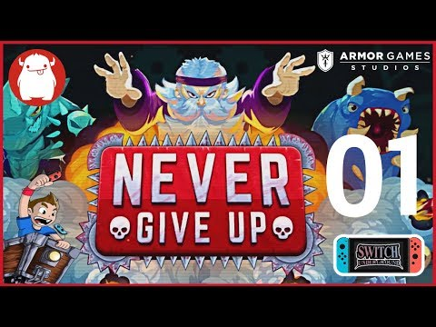 Never Give Up by Massive Monster and Armor Games Studios - Nintendo Switch