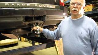 Quick Release Trailer Hitch Installation on a Range Rover Sport, LR3 or LR4