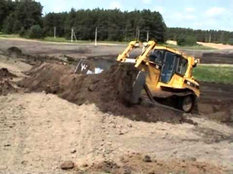 Bunker Construction at Wolf Golf Club, Lithuania
