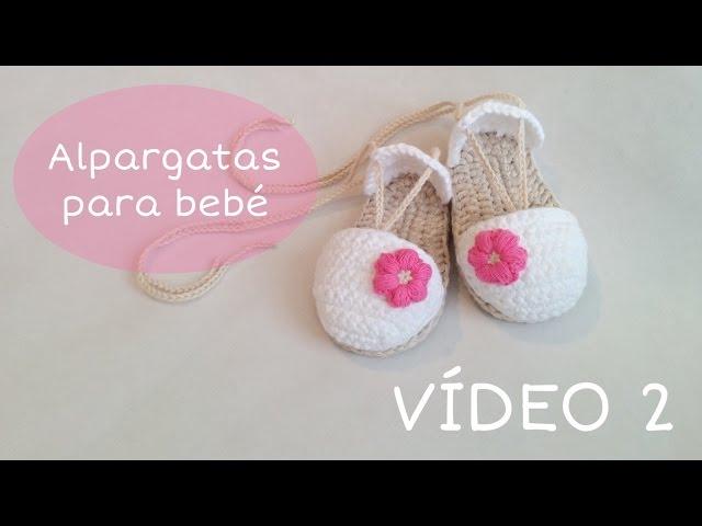 Sandalias o alpargatas a crochet para beb cucocuco thecheapjerseys Choice Image