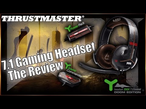 ThrustMaster 7 1 Limited Edition DOOM Gaming Headset   BEST HEADSET 2016