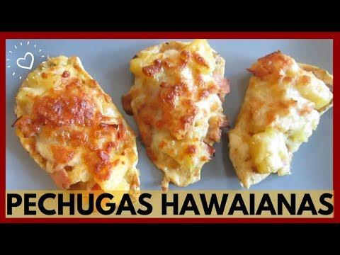 PECHUGAS HAWAIANAS (Pechuga con Piña y Jamón) | La receta más fácil y deliciosa del Mundo!