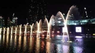 Dubai Fountain 2016