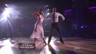 JR Martinez and Karina Smirnoff Rumba