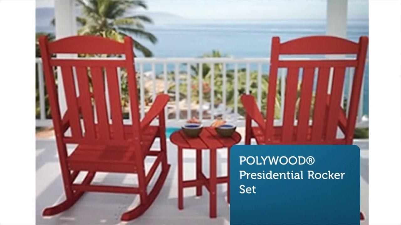 Polywood Rocker | Premium Poly Patios :  (877-904-1234)