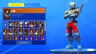 OFFICIAL HUNTING PARTY SKIN BACK BLING REVEALED in SEASON 6 (Fortnite WEEK 7 SECRET SKIN)