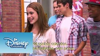 Violetta - Momento musical: Vilu e os meninos cantam ¨Ser Mejor¨
