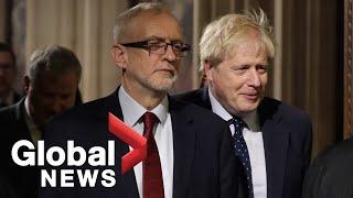 U.K. lawmakers debate Queen's speech in House of Commons