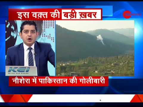 Pakistan again violates ceasefire in Nowshera sector along LoC