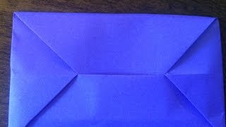 Origami for Beginners - Easy Envelope