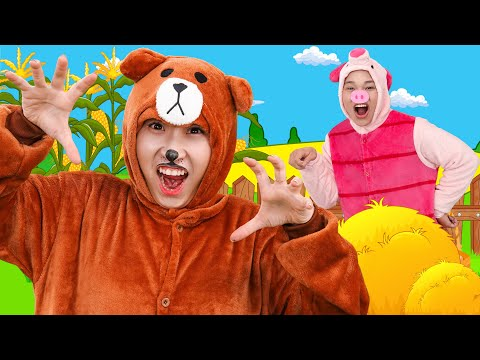 Learn Animal Name | Nursery Rhymes For Children - Tiny Song For Kids #6