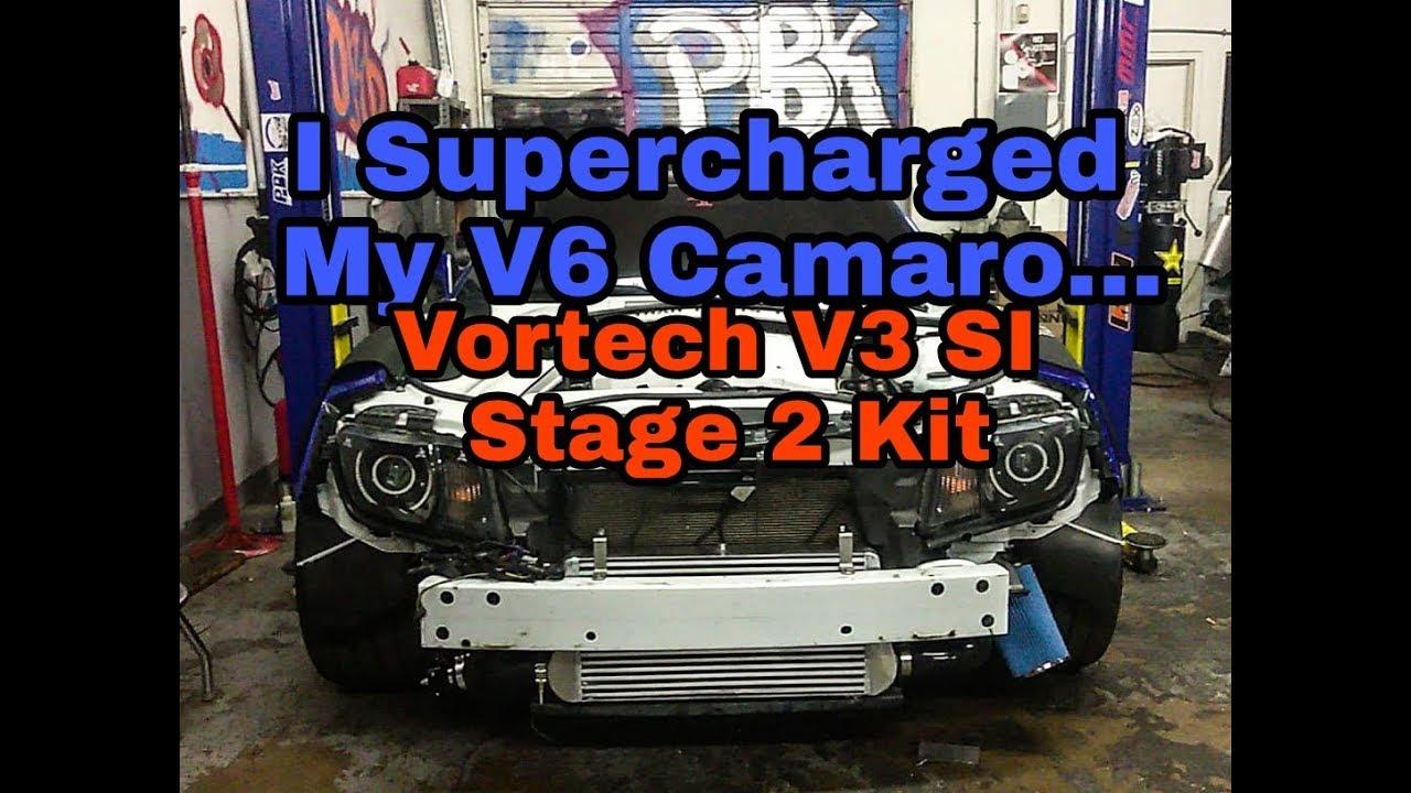 Overkill Supercharger Stage 2 V6 (Camaro ZLS)