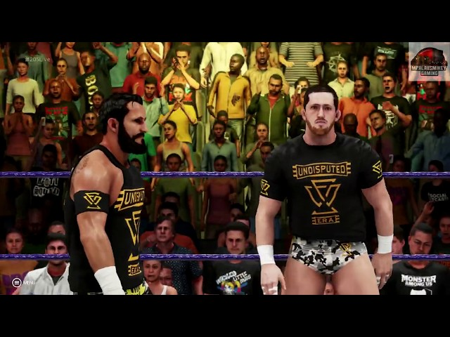 WWE 2K19 - Bobby Fish vs Mustafa Ali - 205 Live Universe Mode !!!!!