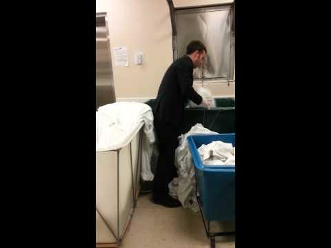 laundry-training!