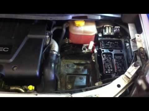 How to remove fuse box on vauxhal - YouTube