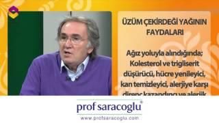 Prof. Saraçoğlu ile Hayat ve Sağlık: Üzüm Çekirdeği Yağının Faydaları