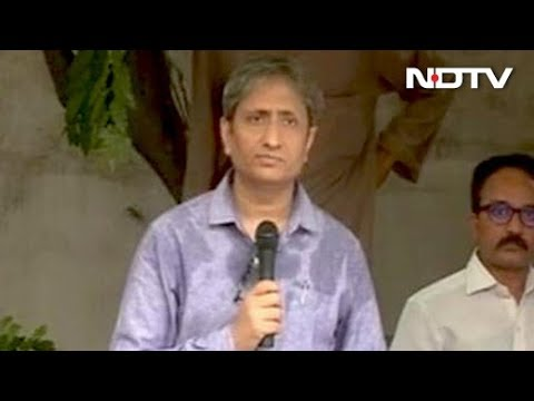 Ravish Kumar's Speech At Press Club On Journalist Gauri Lankesh's Murder