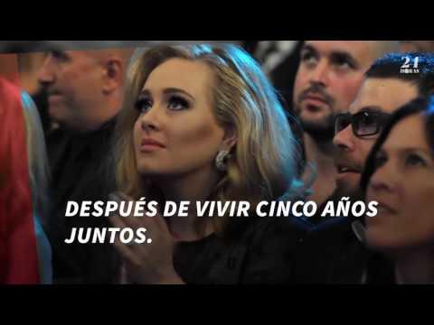 Adele planea boda con Simon Konecki