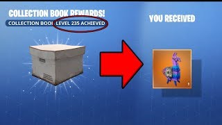 Fortnite Collection Book Legendary Reward Level 235 Legendary Troll Llama