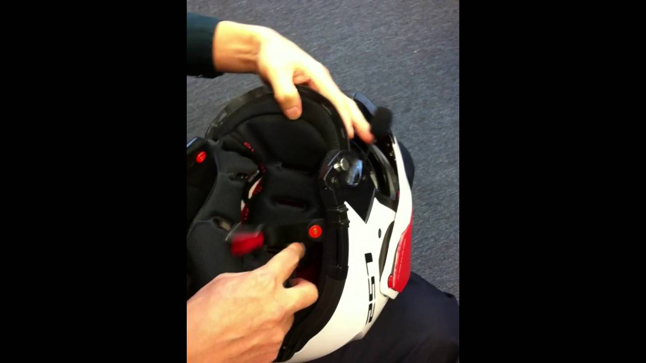 Ls2 Helmet Ls2 Motorcycle Helmet Linkin Bluetooth Install - Youtube