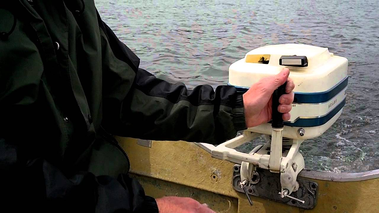 Sears 3 5 Hp Outboard Easy Start Great Runner Youtube