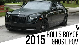 2015 Rolls Royce Ghost Series 2 POV Test Drive