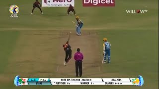 St Lucia Stars Vs Trinbago Knight Riders T20 Highlights 17th August 2018 | Darren Bravo 94 |