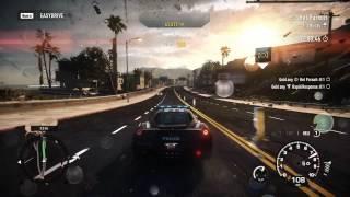 Need for Speed Rivals Cop Gameplay - Hot Pursuit - Medium - Gold - Ferrari 458 Italia (ENF) (1080p)