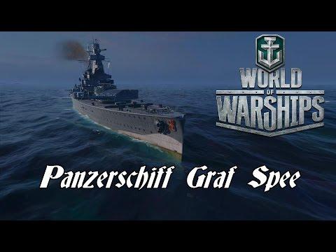 World of Warships - Panzerschiff Graf Spee