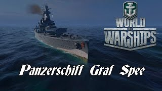 World of Warships - Panzerschiff Graf Spee