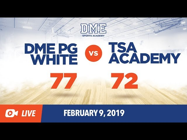DME PG White vs. TSA