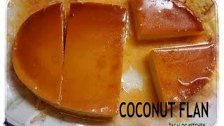 Coconut Flan Tk