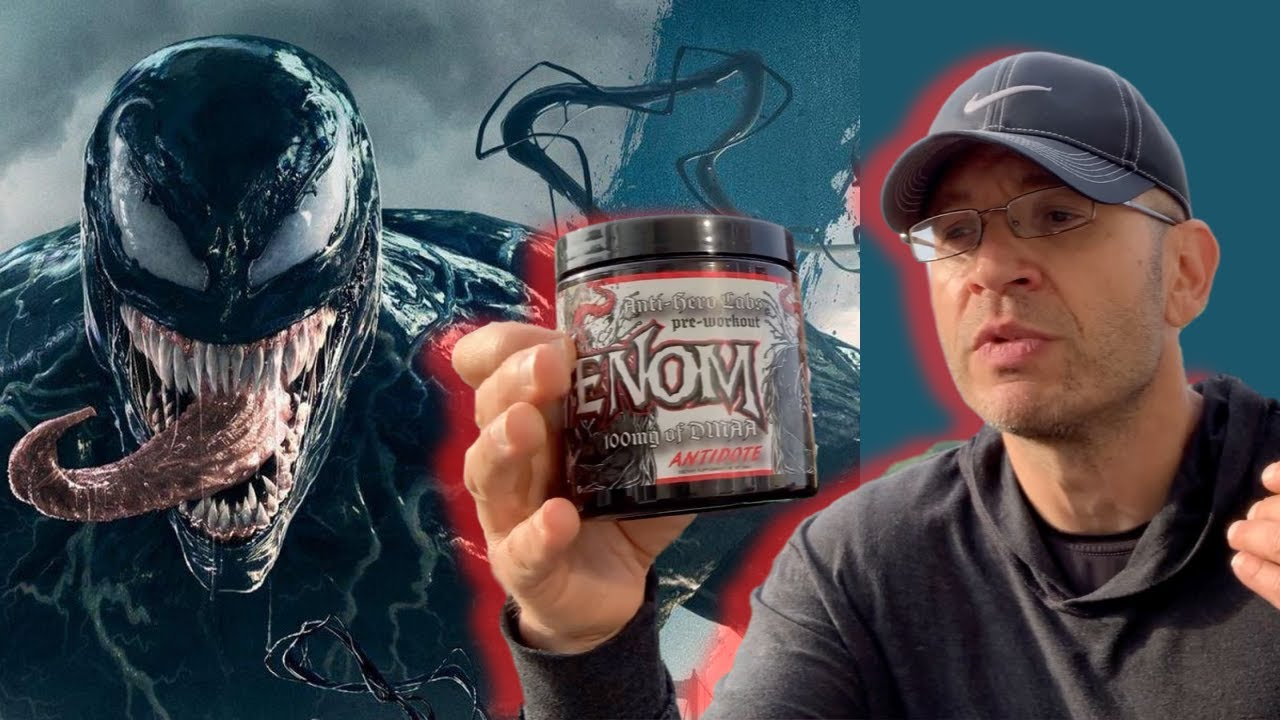 100mg DMAA?! 😱 Anti Hero Labs VENOM Pre Workout Review