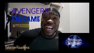 Avengers Endgame trailer 2 (REACTION)