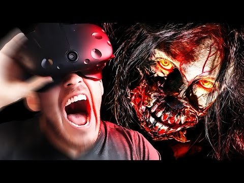 VIRTUAL REALITY HORROR | The Visitor - VIVE