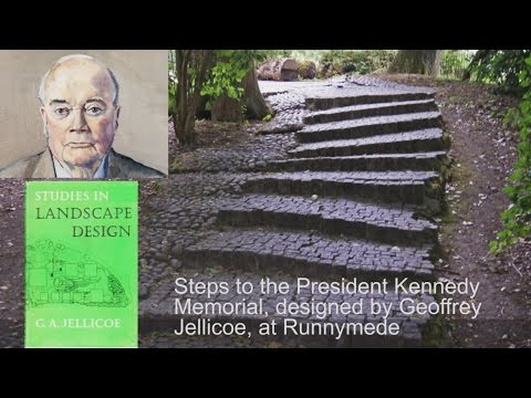 Geoffrey Jellicoe lecture on architecture and landscape architecture work in Italy