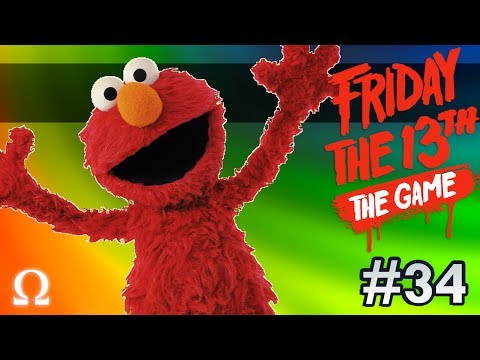 TICKLE ME ELMO JASON, NERDY GURL! | Friday the 13th The Game #34 Ft. Friends