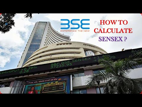 how to calculation of sensex