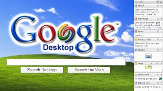 Google Desktop (2004) - Time Travel
