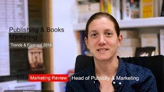 Caroline Newbury, Head Marketing Random House India on e-books 2014
