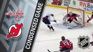 Washington Capitals vs New Jersey Devils – Jan. 18, 2018 | Game Highlights | NHL 2017/18.Обзор матча